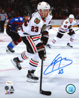 Kris Versteeg Signed Blackhawks 8x10 Photo (SideLine Hologram) at PristineAuction.com