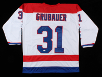 Philipp Grubauer Signed Jersey (JSA Hologram) at PristineAuction.com
