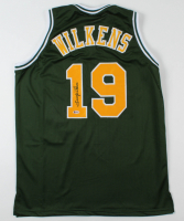 Lenny Wilkens Signed Jersey (Beckett COA) at PristineAuction.com