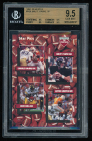 1991 Star Pics #109 Offensive Prospects Nick Bell / Brett Favre / Alvin Harper / Charles McRae (BGS 9.5) at PristineAuction.com