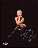 """Christine Elise McCarthy Signed 8x10 Photo Inscribed """"BH 90210"""" (Beckett COA) at PristineAuction.com"""