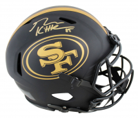 George Kittle Signed 49ers Full-Size Eclipse Alternate Authentic On-Field Speed Helmet (Beckett COA) at PristineAuction.com