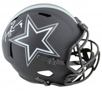Tony Romo Signed Cowboys Full-Size Eclipse Alternate Speed Helmet (Beckett COA) at PristineAuction.com