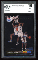 Shaquille O'Neal 1992-93 Upper Deck #1B Trade (BCCG 10) at PristineAuction.com