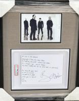 "Bono Signed ""U2 - No Line on the Horizon"" 19.5x25 Custom Framed Print Display (PSA Encapsulated & PSA LOA) at PristineAuction.com"
