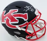 Travis Kelce Signed Chiefs Full-Size AMP Alternate Speed Helmet (Beckett COA) at PristineAuction.com