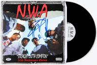 "Ice Cube Signed ""Straight Outta Compton"" Vinyl Record Album (PSA COA) at PristineAuction.com"