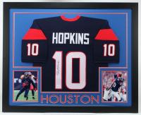 DeAndre Hopkins Signed 35x43 Custom Framed Jersey (JSA COA) (See Description) at PristineAuction.com