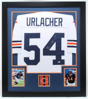 Brian Urlacher Signed 31x35 Custom Framed Jersey (Beckett COA) (See Description) at PristineAuction.com