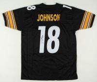 Diontae Johnson Signed Jersey (JSA COA) at PristineAuction.com
