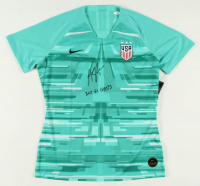 "Alyssa Naeher Signed Nike Goalie Jersey Inscribed ""2019 WC Champs"" (JSA COA) at PristineAuction.com"