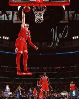 Zach LaVine Signed Bulls 8x10 Photo (Schwartz COA) at PristineAuction.com