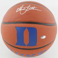 Christian Laettner Signed Duke Blue Devils Logo Basketball (Schwartz COA) at PristineAuction.com