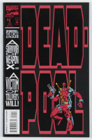 "Vintage 1993 ""Deadpool"" First Issue #1 Marvel Comic Book at PristineAuction.com"