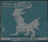 Pokemon TCG: Sun & Moon: Crimson Invasion Elite Trainer Box with (8) Booster Packs at PristineAuction.com