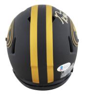 George Kittle Signed 49ers Eclipse Alternate Speed Mini Helmet (Beckett COA) at PristineAuction.com