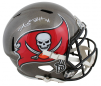 Antonio Brown Signed Buccaneers Full-Size Speed Helmet (JSA COA) at PristineAuction.com