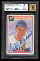 Ted Williams 2014 Panini Hall of Fame Heroes Buyback Autographs #25 SE 5/5 (BGS 8) at PristineAuction.com