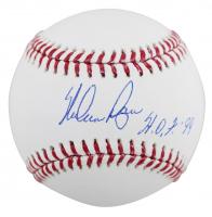 "Nolan Ryan Signed OML Baseball Inscribed ""H.O.F. 99"" (Beckett COA, AIV Hologram & Ryan Hologram) at PristineAuction.com"