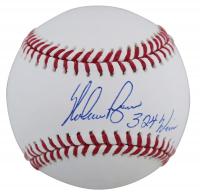 "Nolan Ryan Signed OML Baseball Inscribed ""324 Wins"" (Beckett COA, AIV Hologram & Ryan Hologram) at PristineAuction.com"