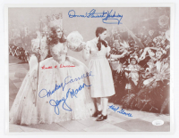 """""""The Wizard of Oz"""" 11x14 Photo Cast-Signed by (5) with Ruth Duccini, Karl Slover, Mickey Carroll, Jerry Maren & Donna Stewart-Hardway (JSA COA) at PristineAuction.com"""