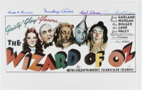 """""""The Wizard Of Oz"""" 11x17 Photo Cast-Signed by (4) with Mickey Carroll, Ruth Duccini, Donna Stewart-Hardaway, & Karl Slover (JSA COA) at PristineAuction.com"""
