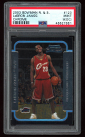LeBron James 2003-04 Bowman Chrome #123 RC (PSA 9 (OC) at PristineAuction.com