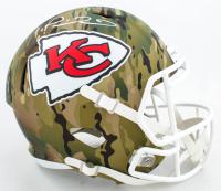 Patrick Mahomes II Signed Chiefs Full-Size Camo Alternate Speed Helmet (JSA COA) at PristineAuction.com