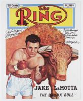 Jake LaMotta Signed 16x20 Photo With Multiple Inscriptions (JSA COA) at PristineAuction.com