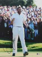 Sergio Garcia Signed 11x14 Photo (Beckett COA) at PristineAuction.com