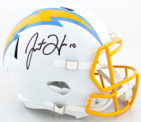 Justin Herbert Signed Chargers Full-Size Speed Helmet (Beckett COA) at PristineAuction.com