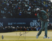Dustin Johnson Signed 11x14 Photo (Beckett COA) at PristineAuction.com