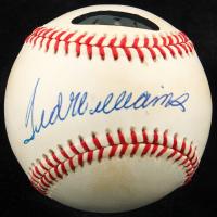 Ted Williams Signed OAL Baseball (Williams COA) at PristineAuction.com
