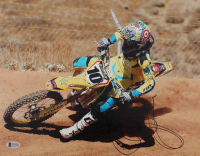 Ryan Dungey Signed 11x14 Photo (Beckett COA) at PristineAuction.com