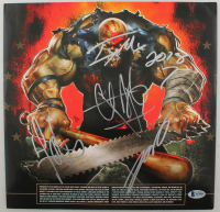 Five Finger Death Punch Vinyl Record Album Band-Signed by (5) with Ivan Moody, Zoltan Bathory, Jason Hook, Chris Kael, & Jeremy Spencer (Beckett LOA) at PristineAuction.com