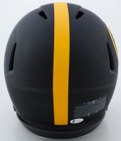 """Troy Polamalu Signed Steelers Full-Size Authentic On-Field Eclipse Alternate Speed Helmet Inscribed """"HOF 20"""" (Beckett COA) at PristineAuction.com"""
