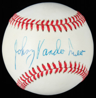 Johnny Vander Meer Signed ONL Baseball (JSA COA) at PristineAuction.com