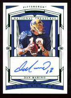 Dan Marino 2020 Panini National Treasures Collegiate Emerald #78 Autograph at PristineAuction.com