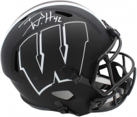 T. J. Watt Signed Wisconsin Badgers Full-Size Eclipse Alternate Speed Helmet (JSA COA) at PristineAuction.com
