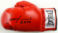 "Lennox Lewis Signed Everlast Boxing Glove Inscribed ""2020"" (Beckett COA) at PristineAuction.com"