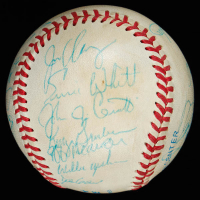 1987 Blue Jays OAL Baseball Team-Signed by (28) with Jesse Barfield, Jimy Williams, Lloyd Moseby, Jim Clancy (JSA LOA) at PristineAuction.com