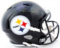 Devin Bush Jr. Signed Steelers Full-Size Speed Helmet (JSA COA) at PristineAuction.com