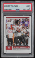 Patrick Mahomes II 2017 Score #403 RC (PSA 9) at PristineAuction.com