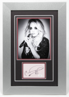 Carrie Underwood Signed 15x22 Custom Framed Cut Display (JSA COA) at PristineAuction.com