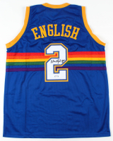 """Alex English Signed Jersey Inscribed """"HOF 97"""" (PSA COA) at PristineAuction.com"""