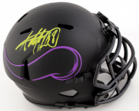 Adrian Peterson Signed Vikings Eclipse Alternate Speed Mini Helmet (Beckett COA) at PristineAuction.com