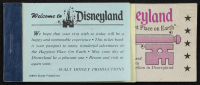 Vintage Disneyland Ticket Booklet With (5) Tickets at PristineAuction.com