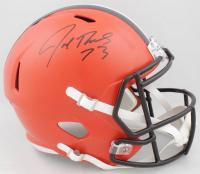 Joe Thomas Signed Browns Full-Size Speed Helmet (Schwartz Sports COA) at PristineAuction.com