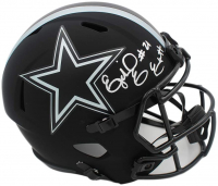 Ezekiel Elliott Signed Cowboys Full-Size Eclipse Alternate Speed Helmet (Radtke COA) at PristineAuction.com