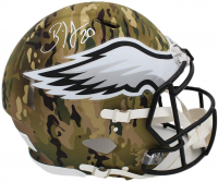 Brian Dawkins Signed Eagles Full-Size Authentic On-Field Camo Alternate Speed Helmet (Radtke COA) at PristineAuction.com
